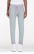 DIESEL Turquoise Faded Ombre Lounge Pants for women