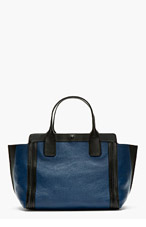 CHLOE Navy Leather Alison East-West Tote for women