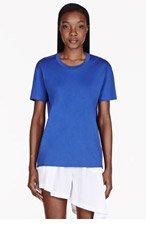 ACNE STUDIOS Royal blue Bijoux generic T-shirt for women