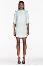 3.1 PHILLIP LIM Sky Blue Bib Front Shirt Dress for women