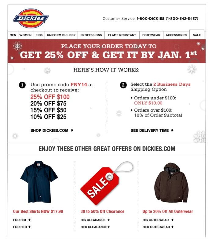 25% Off + Get it Before Jan. 1st