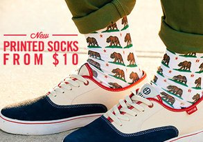 Shop Sick NEW Socks with Fresh Prints