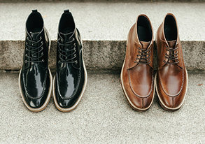 Shop Premium Leather Boots ft. Rogue
