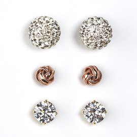 A Touch of Shine: Stud Earrings