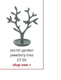 secret garden jewellery tree