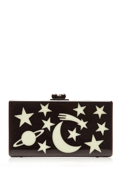 Glow-in-the-Dark Jean Solar System Clutch