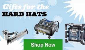 Gifts for the Hard Hats. Shop Now.