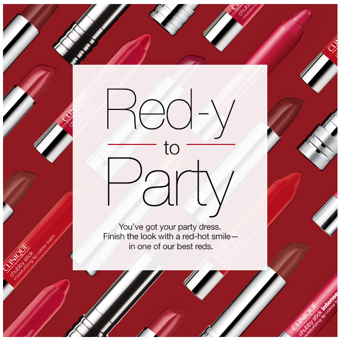 Red-Y to Party