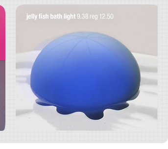 jelly fish bath light 9.38 reg 12.50