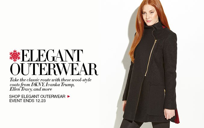 Wool Outerwear event - Womens