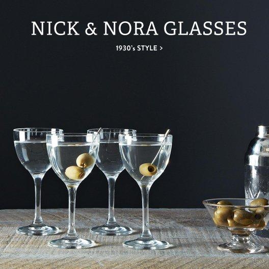 Nick & Nora Glasses