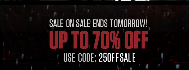 Sale On Sale Ends Soon!