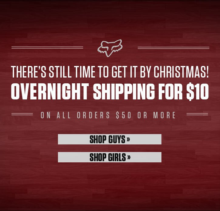 There Is Still Time to Get It By Christmas!
