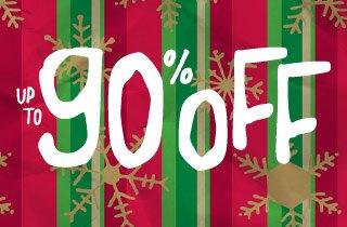 Sunday Savings: Up To 90% Off