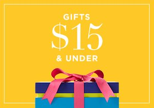 Gifts $15 & Under