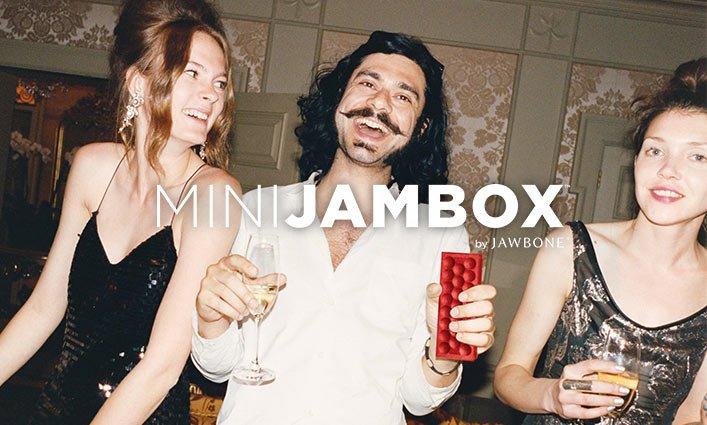 Celebration with MINI JAMBOX.
