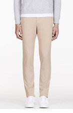 CARVEN Beige COTTON Classic CHINOs for men