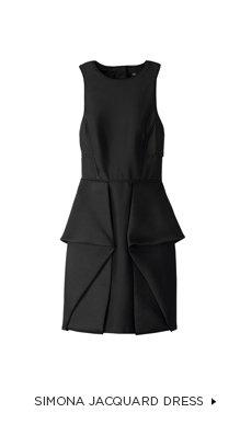 Simona Jacquard Dress