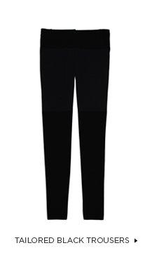 Tailored Black Trouser