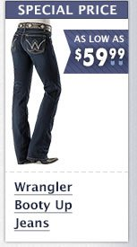 Womens Wrangler Booty Up Jeans on Sale