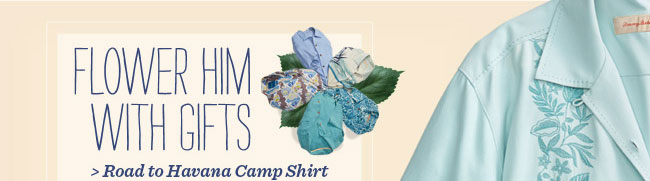 Road To Havana Camp Shirt