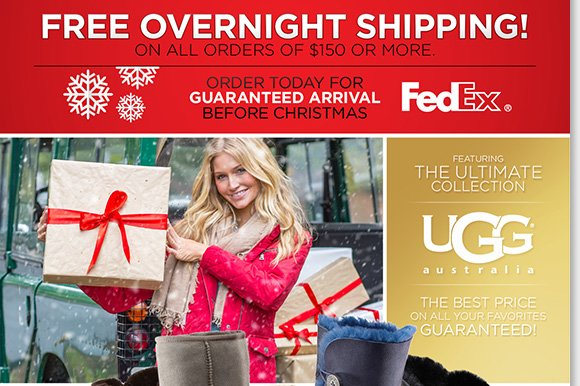 Hurry for great gifts from UGG® Australia, Zealand, Dansko, ABEO & more! Plus, shop the season's ultimate UGG® Australia styles for everyone on your list. Enjoy FREE Overnight Shipping with any purchase of $150 or more!* Shop now to find the best selection at The Walking Company.