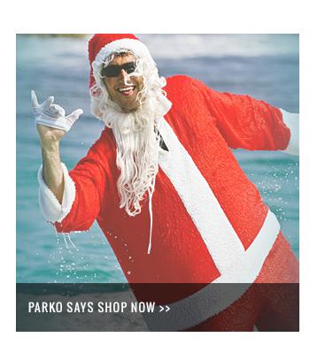 Parko says shop now