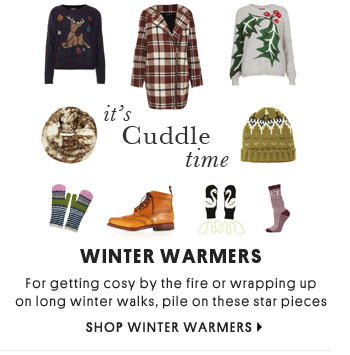 IT'S CUDDLE TIME - Shop Winter Warmers