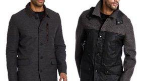 Men's Wool and Down Coats