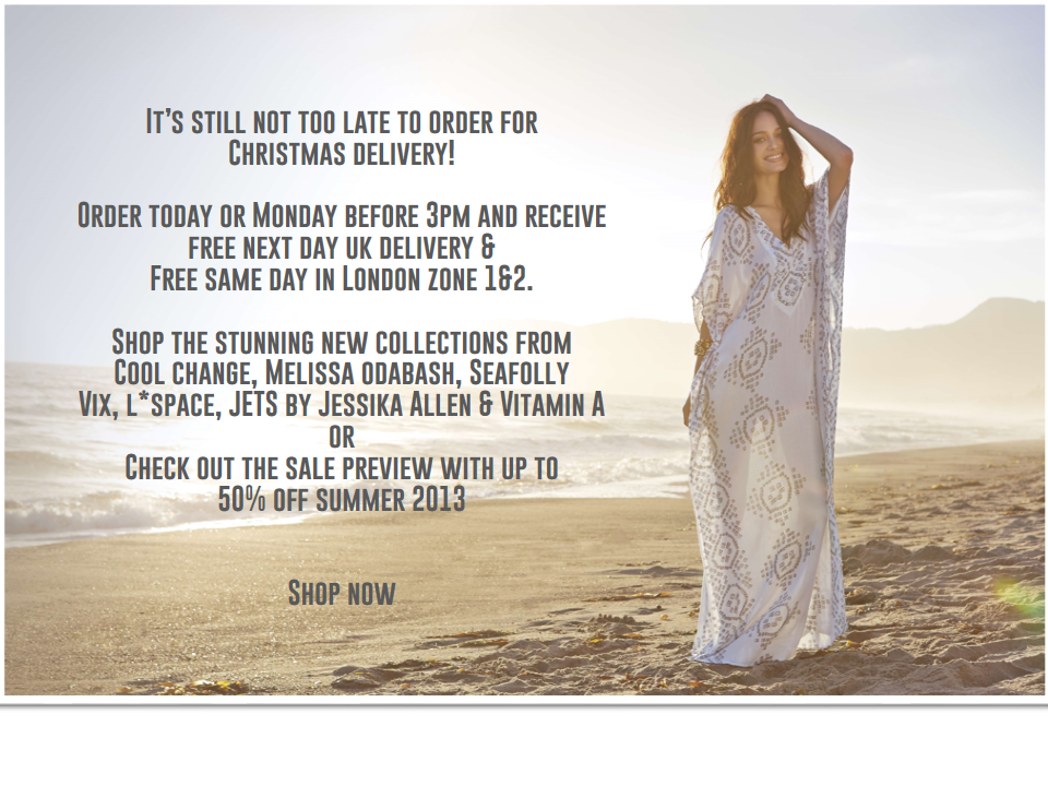 It's Still not too late to order for Christmas!  New Collections & Sale Preview