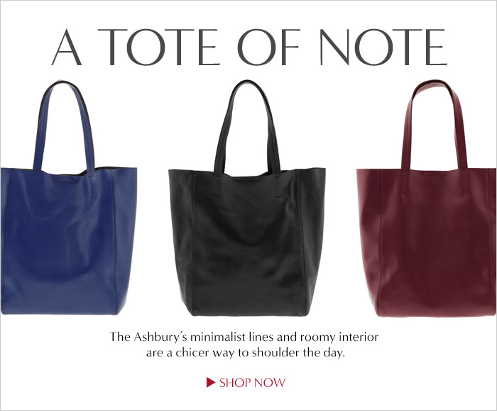 A TOTE OF NOTE | SHOP NOW
