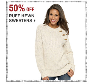 Up to 50% off Ruff Hewn sweaters