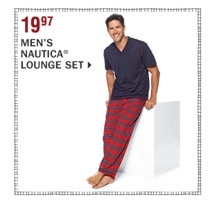 19.97 Men's Nautica® lounge set