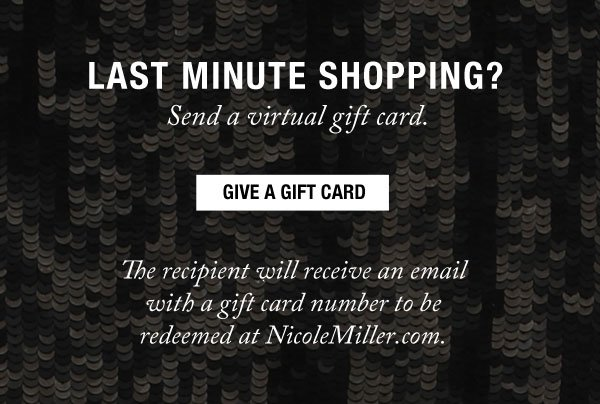 Give a Gift Card.