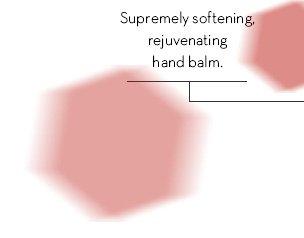 Supremely softening, rejuvenating hand balm.