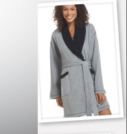 Jockey Sherpa Wrap Robe: