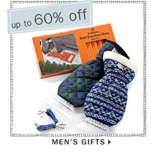 Up to 60% off Men's gifts