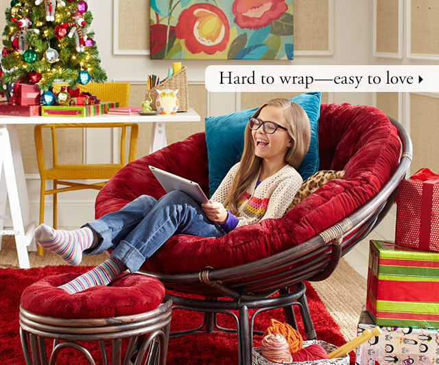 Pier 1 Talk About Comfort And Joy Give A Papasan And Save