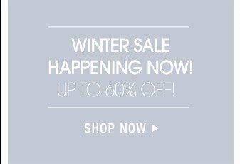 Winter Sale - Shop Now