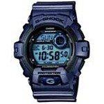 Casio G8900SH-2 Men's G-Shock Blue Digital Dial Metallic Blue Resin World Time Dive Watch