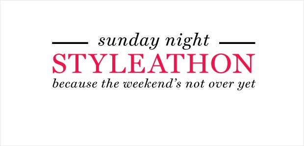 Sunday Night Styleathon