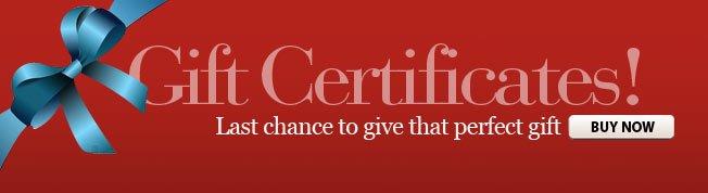 Shoebuy Gift Certificates!