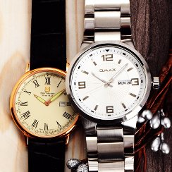 Round Watches Clearance for Him & for Her