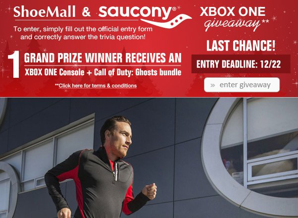 LAST CHANCE to Win an Xbox One!