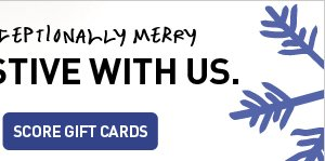 SCORE GIFT CARDS