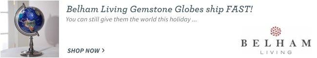 Gemstone Globes