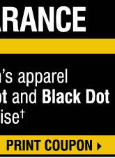 Yellow Dot Clearance - take an EXTRA 30% OFF all women's apparel Yellow Dot and Black Dot merchandise**** Print coupon.