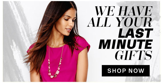 We have all your Last Minute Gifts. Shop Now.