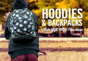 Shop Hoodies & Backpacks from $30