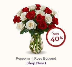 Peppermint Rose Bouquet - Save 40% Shop Now